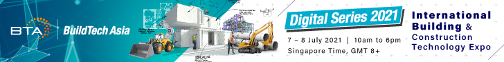 BuildTech Asia 2021 - Digital Series  7/8/2021